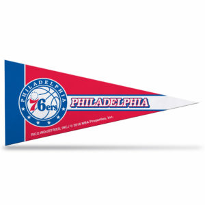 NBA PHILADELPHIA 76ERS MINI PENNANT