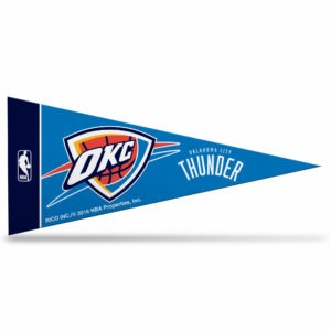 Offically Licensed NBA Oklahoma City Thunder Mini Pennant