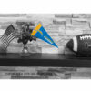 Los Angeles Chargers Mini Pennant 9x4 inch
