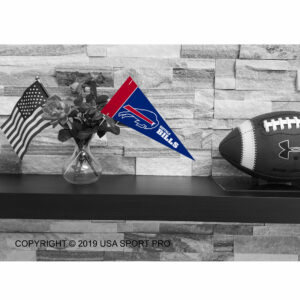 Buffalo Bills Mini Pennant 9x4 inch