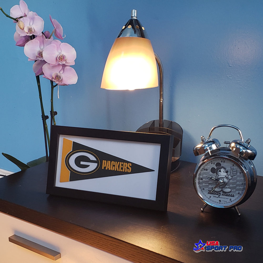 NFL Green Bay Packers mini pennant framed 1