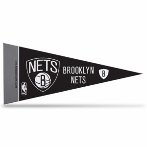 Offically Licensed NBA Brooklyn Nets Mini Pennant