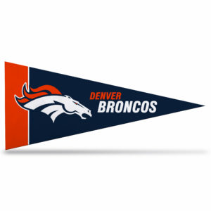Officially Licensed NFL Denver Broncos Mini Pennant