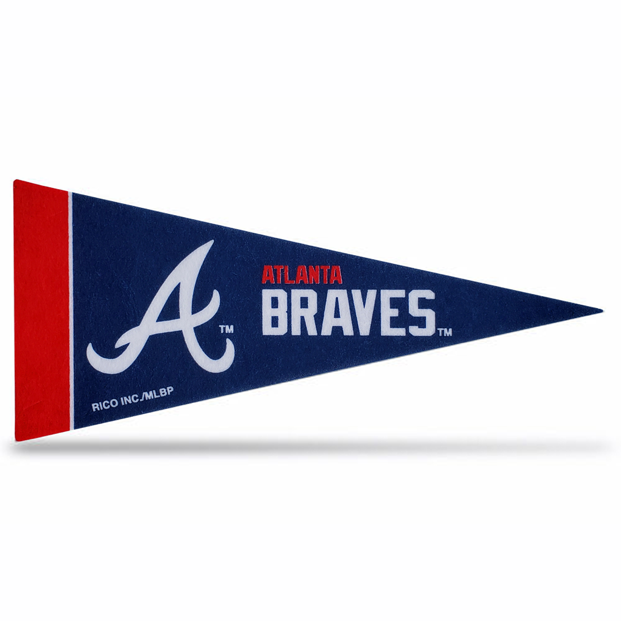 MLB Atlanta Braves Mini Pennant 9x4 inch felt New