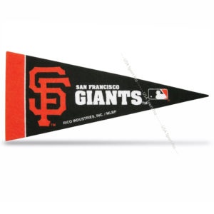 MLB San Francisco Giants Mini Pennant 9x4 inch fet