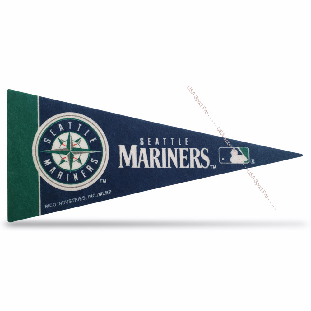 MLB Seattle Mariners Mini Pennant 9x4 inch felt