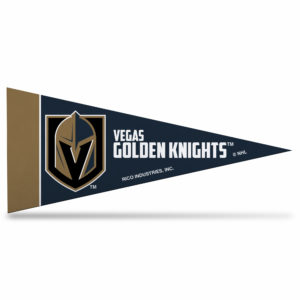 Las Vegas Golden Knights NHL Mini Pennant 9X4 inch, felt