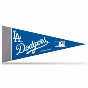 MLB Los Angeles Dodgers Mini Pennant 9x4 inch felt