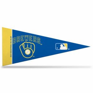 MLB Milwaukee Brewers Mini Pennant 9x4 inch felt