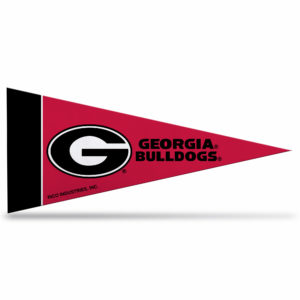 NCAA GEORGIA BULLDOGS MINI PENNANT 9X4 inch, felt