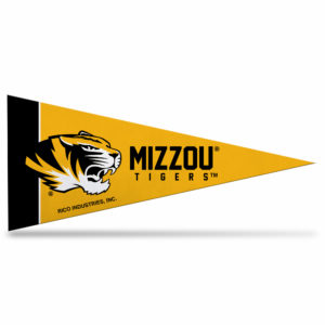 NCAA Missouri University Mini Pennant 9X4 inch, felt