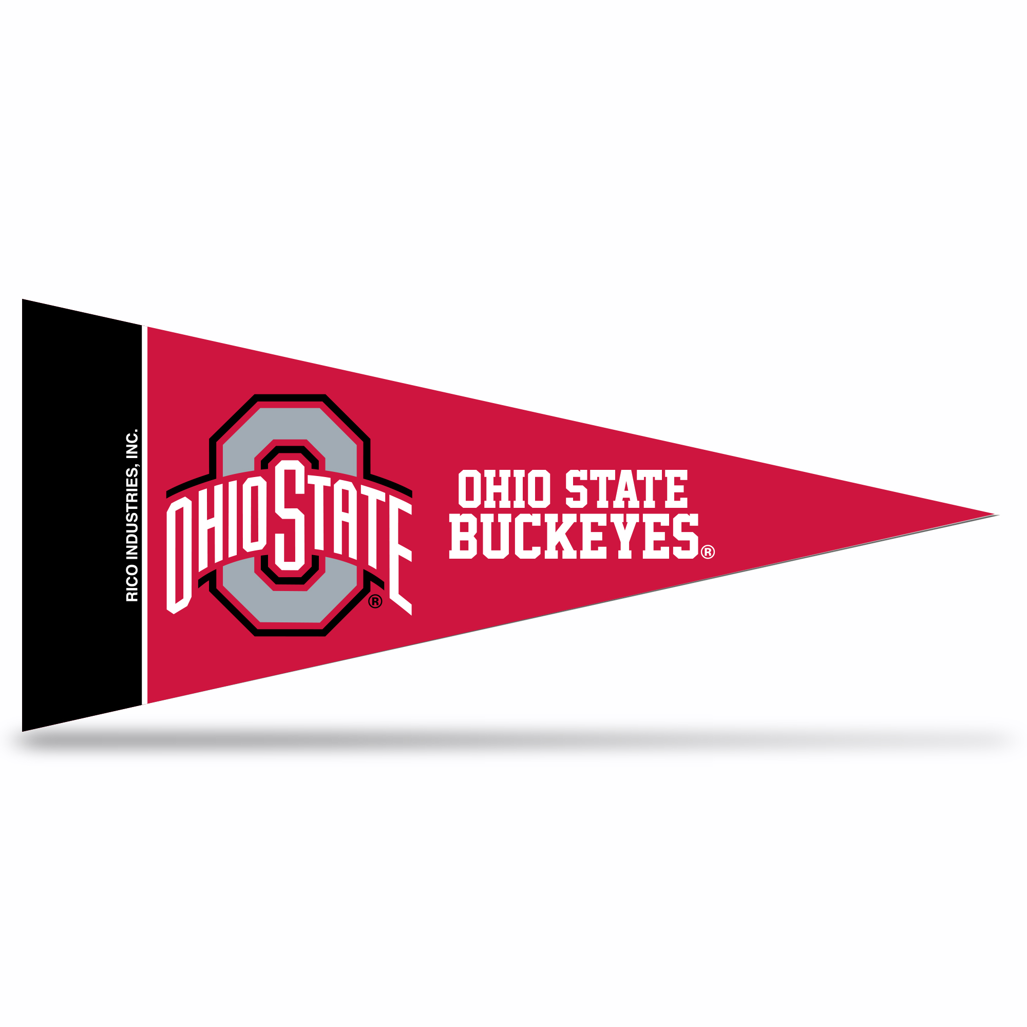 NCAA Ohio State University Mini Pennant 9X4 inch, felt