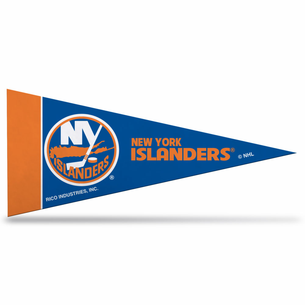 New York Islanders NHL Mini Pennant 9X4 inch, felt