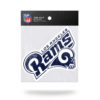 Officially Licensed NFL Los Angeles Rams Die Cut Static Cling