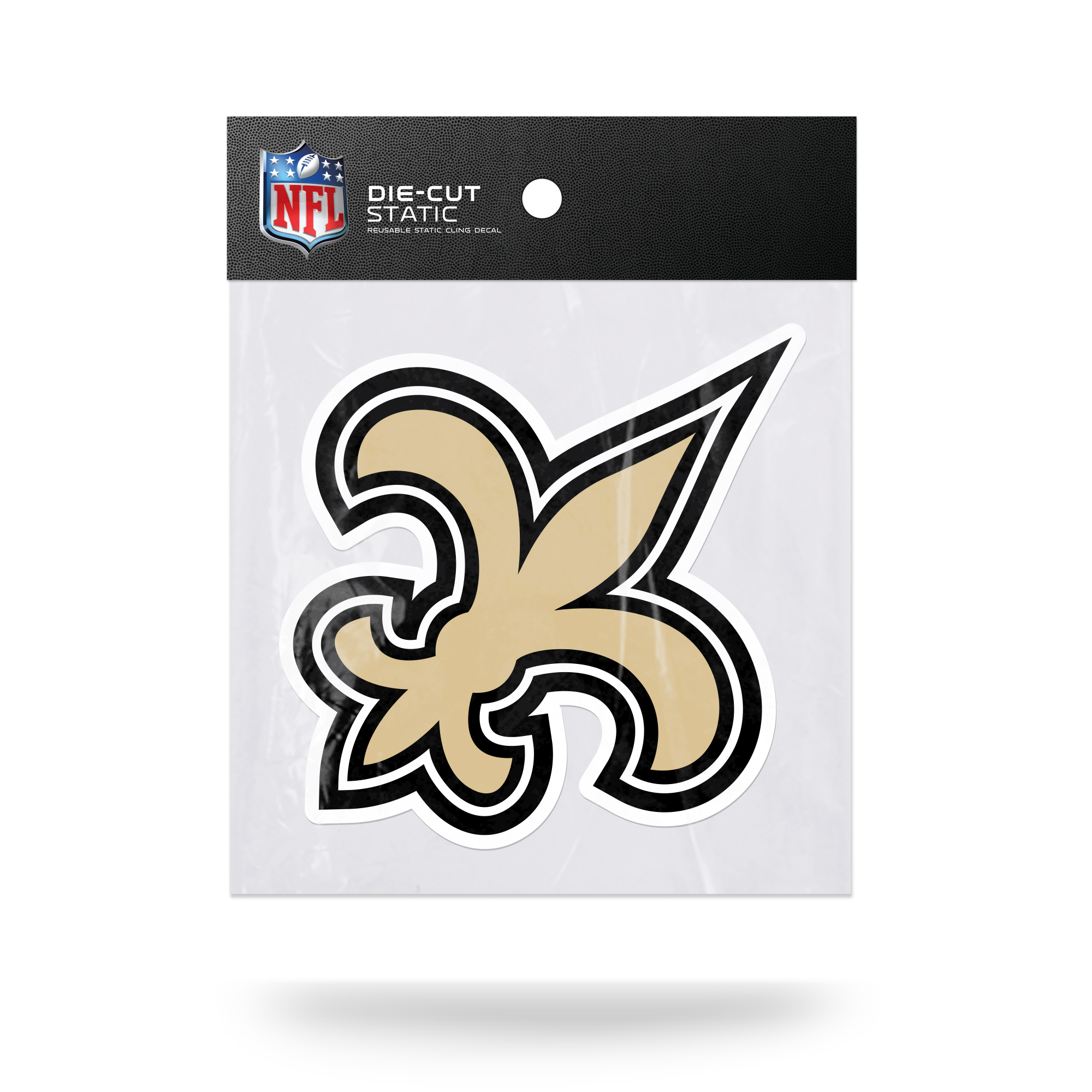 Officially Licensed NFL New Orleans Saints Static Cling