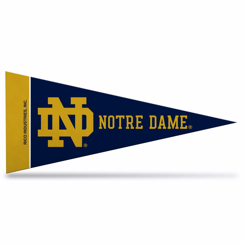 Notre Dame pennant