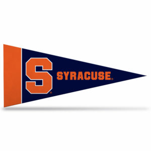 NCAA Syracuse University mini pennant 9X4 inch,felt