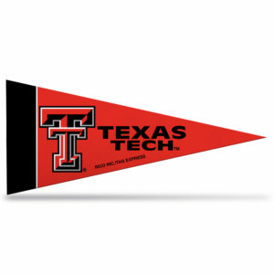 NCAA Texas Tech Mini Pennant 9X4 inch,felt