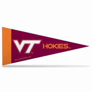 NCAA Virginia Tech Mini Pennant 9x4 inch,felt