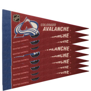 Colorado Avalancce NHL Mini Pennant 9X4 inch, felt