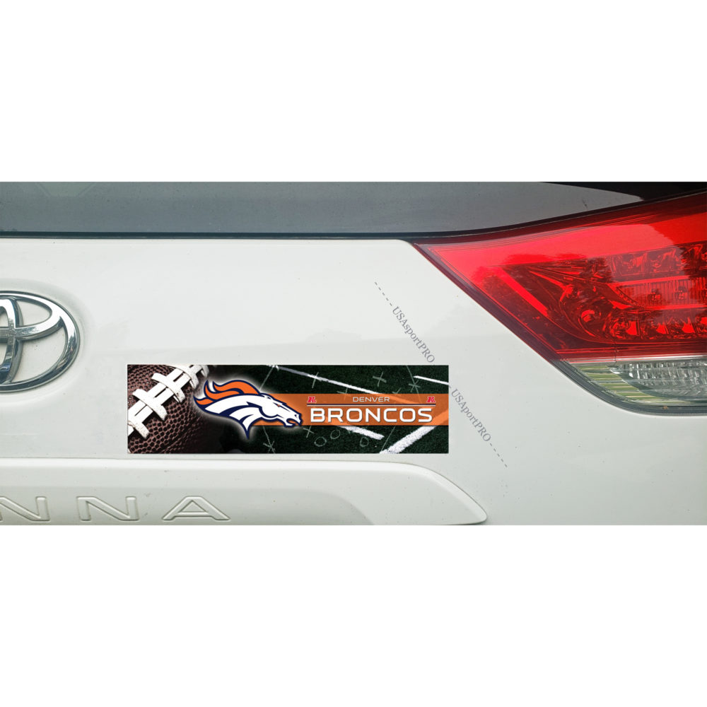 Denver Broncos Bumper Sticker