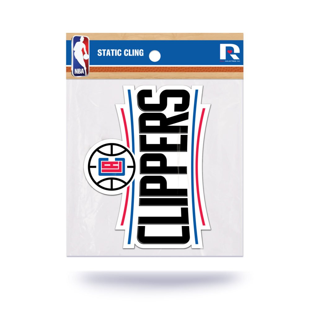 Los Angeles Clippers NBA Vinyl Static Cling