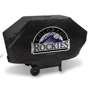 MLB Colorado Rockies Deluxe Grill Cover 1