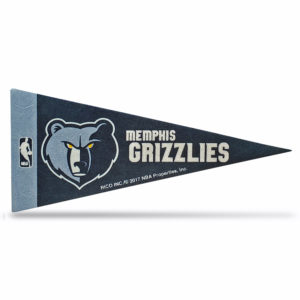 Memphis Grizzlies NBA Mini Pennant 9x4 inch, felt, collectible 1