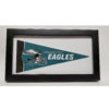 NFL Philadelphia Eagles Mini Pennant 9x4 inch, felt, COLECTIBLE framed 1