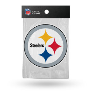 Pittsburgh Steelers NFL Static Cling 5.25W X 5.25T