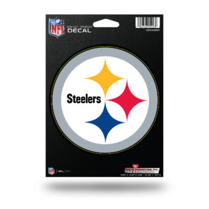 Pittsburgh Steelers NFL Vinyl Decorative Sticker 5W X 5T inch