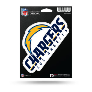 "San Diego Chargers NFL Vinyl Decorative Sticker 6 1/2""W X 4""T"