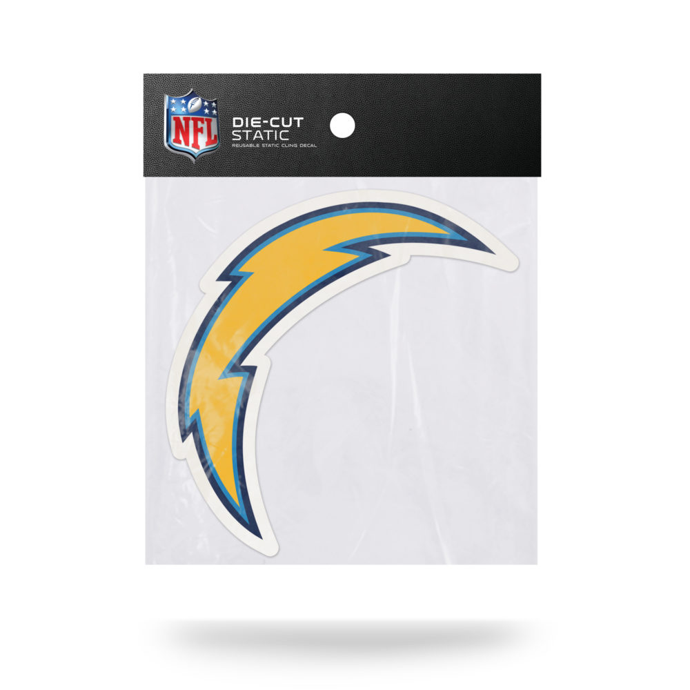 San Diego Chargers NFL Vinyl Static Cling 5W X 5.25T