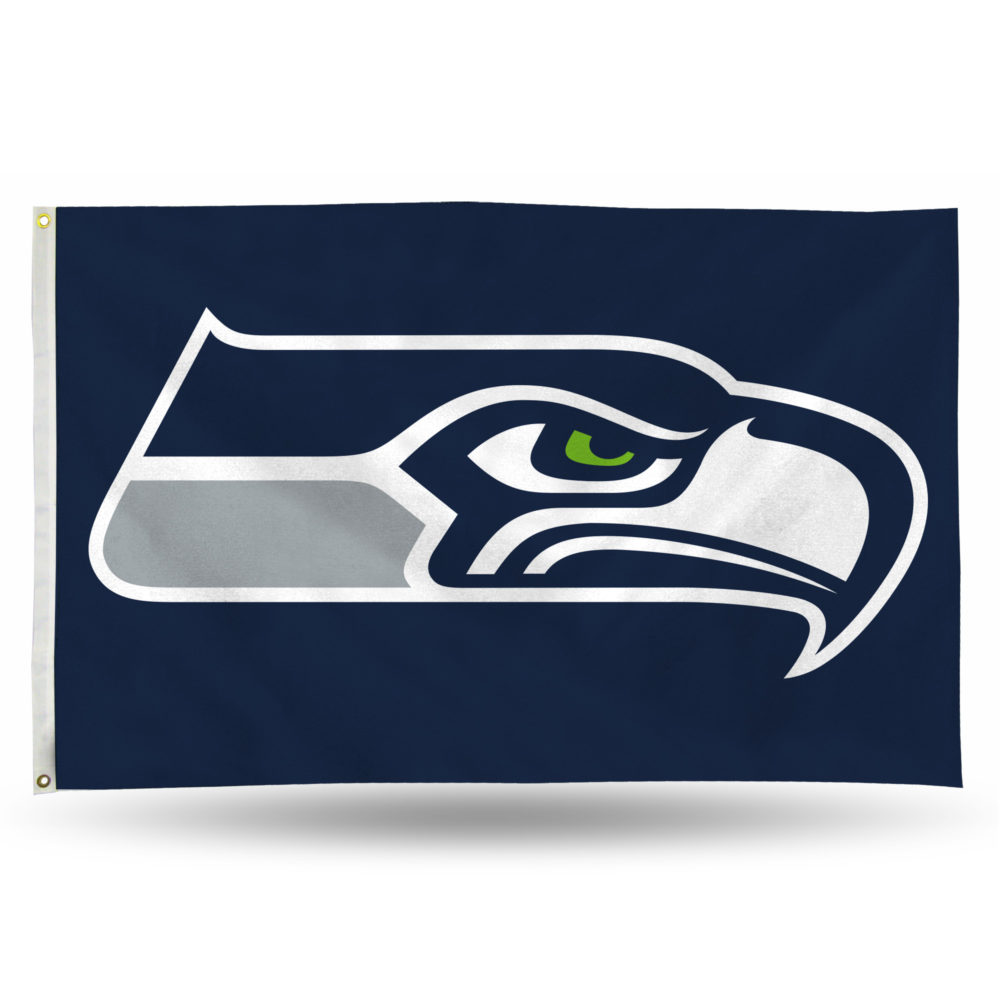 Seattle Seahawks NFL Banner Flag 3'X5'