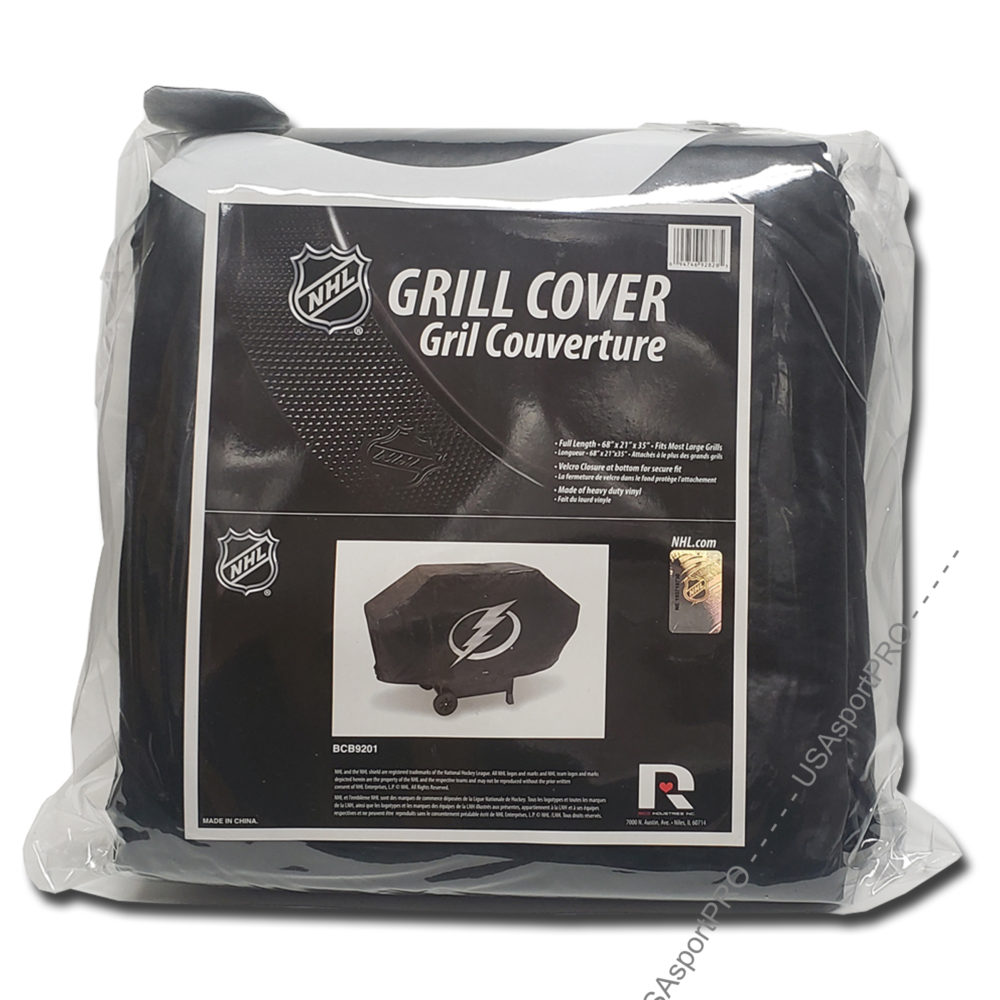 Tampa Bay Lightning NHL Deluxe Vinyl Padded Grill Cover 1