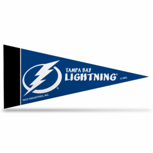 Tampa Bay Lightning NHL Mini Pennant 9x4 inch Made in USA