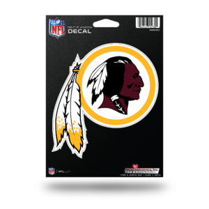 "Washington Redskins NFL Vinyl Decorative Sticker 5""W X 5 1/2""T"