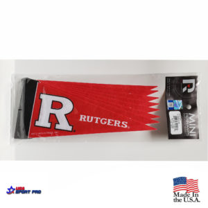 Rutgers Scarlet Knights Mini Pennant 8-Pack