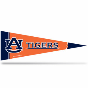 Auburn Tigers Middle Man Pennant 5 X 14 inch, felt, Made in USA