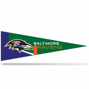 Baltimore Ravens NFL Middle Man Pennant 5 X 14 inch