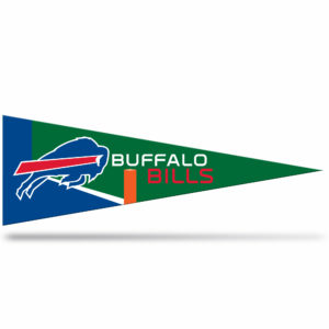 Buffalo Bills NFL Middle Man Pennant 5 X 14 inch, Felt, Mad in USA