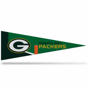 Green Bay Packers NFL Middle Man Pennant 5 X 14 inch