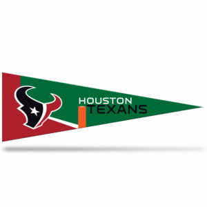 Houston Texans NFL Middle Man Pennant 5 X 14 inch, Felt, Mad in USA