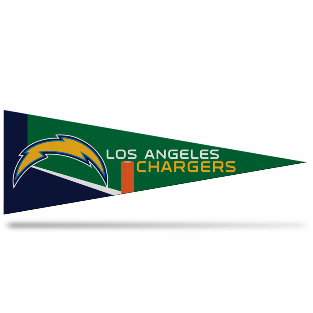 Los Angeles Chargers middle man pennant
