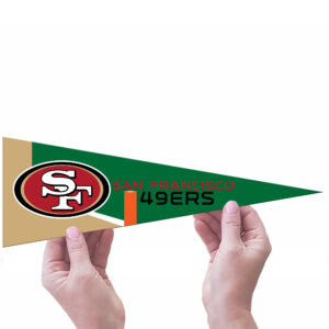 San Francisco 49ers NFL Middle Man Pennant