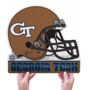 Georgia Tech Yellow Jackets helmet pennant1